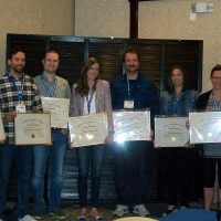 Eight new P.Ag.'s were presented with their P.Ag. certificate